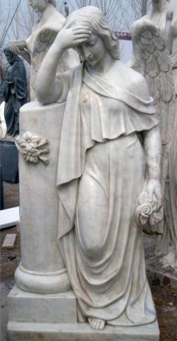 скульптуры из мрамора Морозова